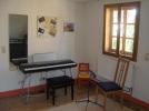 Unterrichtsraum unter dem Dach