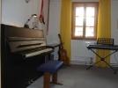 Unterrichtsraum im ersten Stock