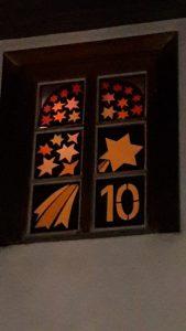Adventsfenster Höfingen